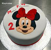 Tarta Minnie puzzle - 001