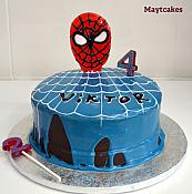 Tarta spiderman - 001